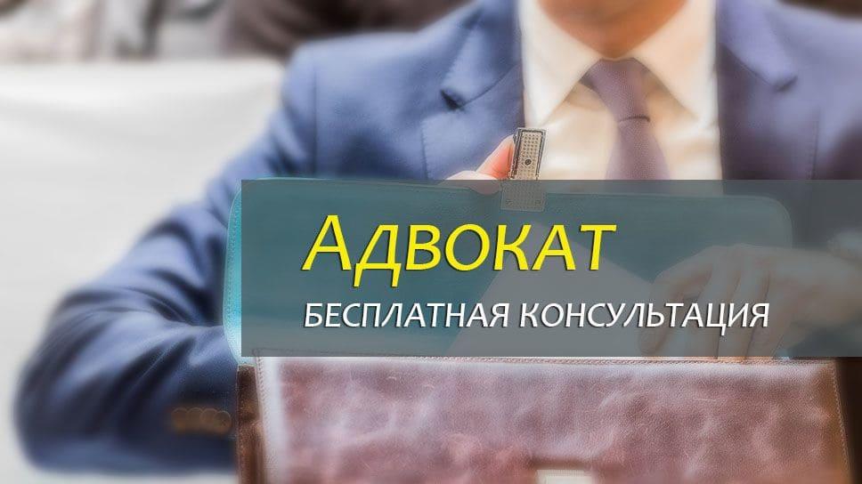 Бесплатный адвокат и юрист